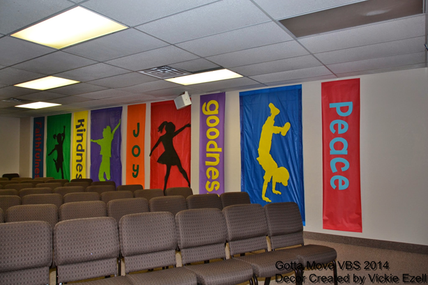Gotta Move VBS Decor - Bible Crafts and Activities