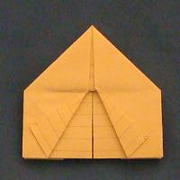 Origami Tent for Story of Abraham