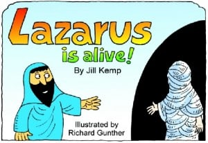 Lazarus is Alive Book to Print or Color