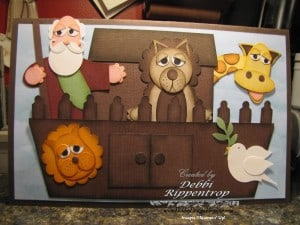 Paper Punch Art Noah's Ark