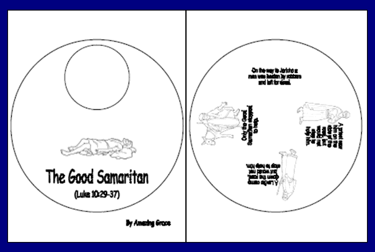 The Good Samaritan | aunties bible lessons | 502x747