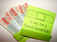 Good Samaritan Bandage Matchbook