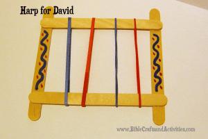 David Plays the Harp Craft