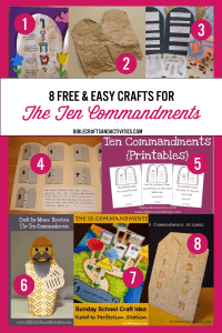 collage-craft-ideas-the-ten-commandments