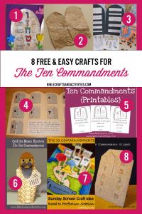 collage-craft-ideas-the-ten-commandments