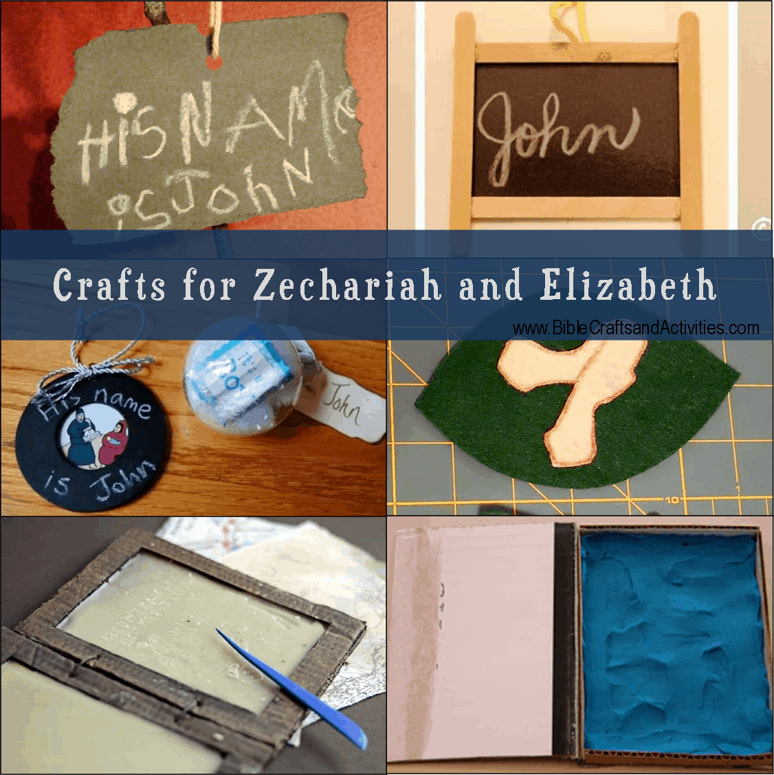 Crafts For Zechariah And Elizabeth Bible Crafts And Activities