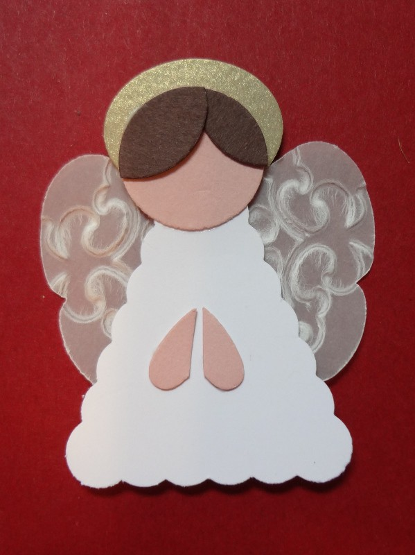 Christmas Crafts Paper Angels : Paper punch art angels bible crafts and activities
