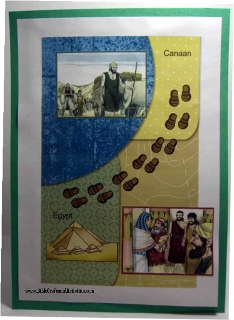 Joseph's Family Moves to Egypt