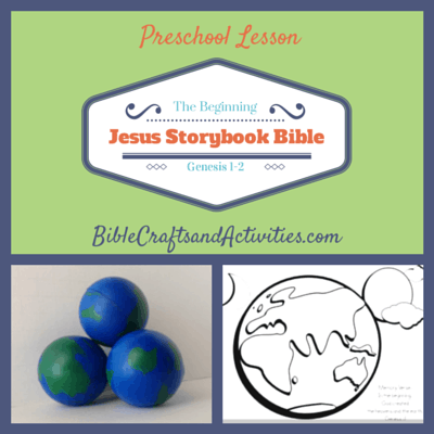 Jesus Storybook Bible The Beginning