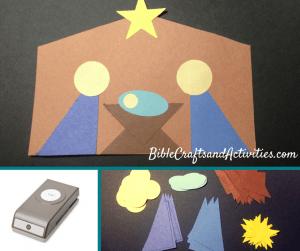 Simple Shape Nativity Craft