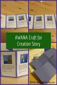 Craft for Creation Story