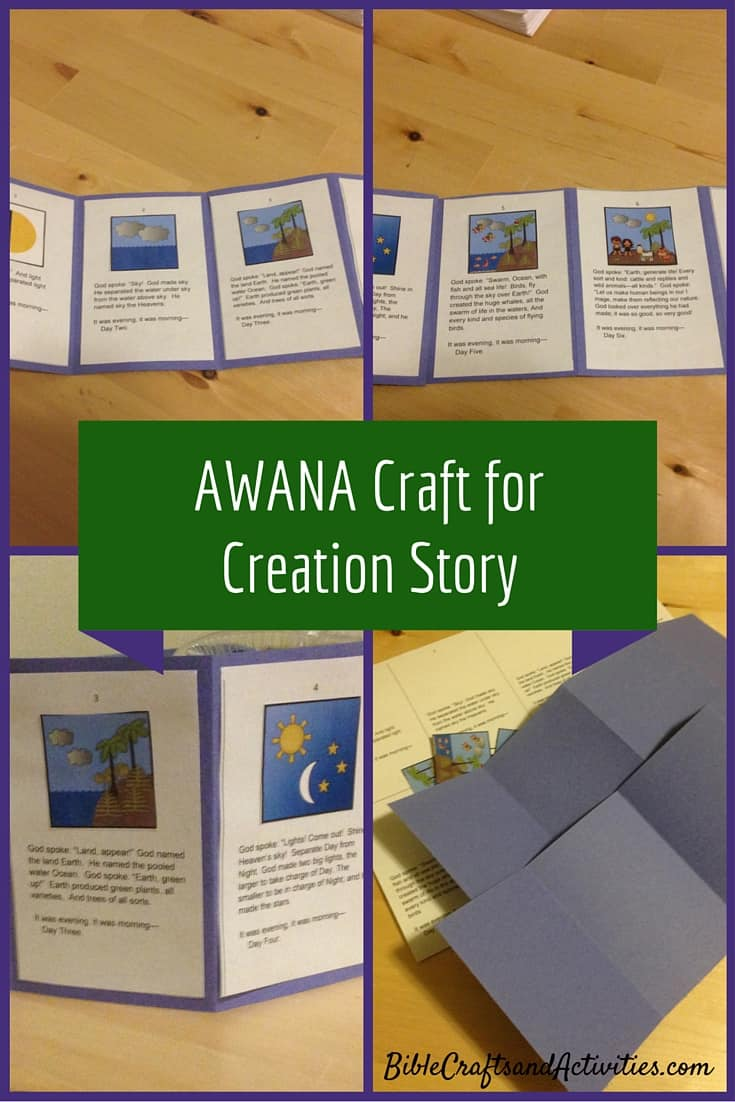 Story of Creation Craft and Printable