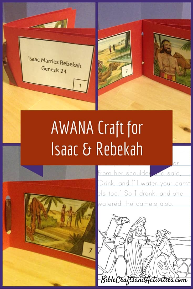 Isaac and Rebekah Craft with Printable