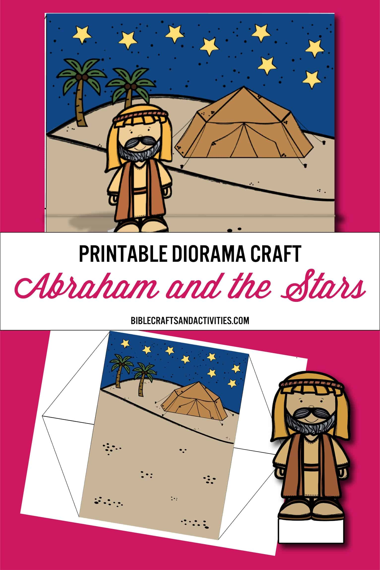 photo regarding Printable Diorama identify Abraham Craft: As Lots of As The Superstars