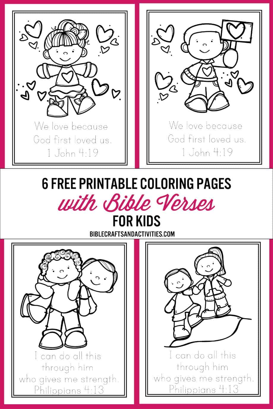 - Free Bible Verse Coloring Pages - Bible Crafts And Activities
