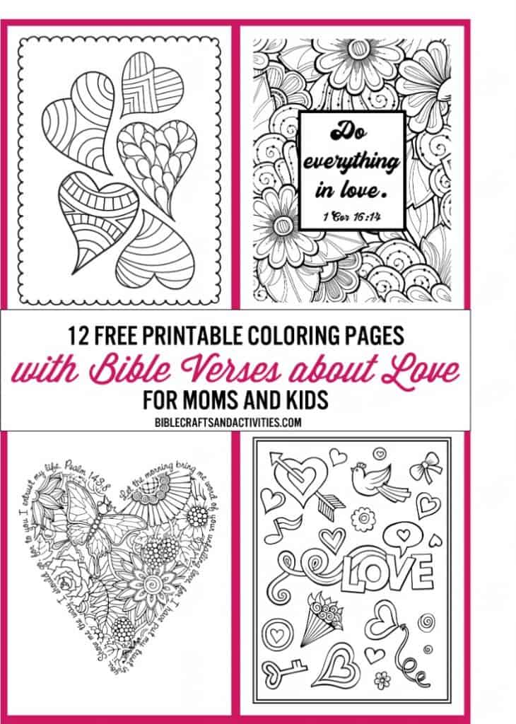 - Free Valentine Coloring Pages - Bible Crafts And Activities
