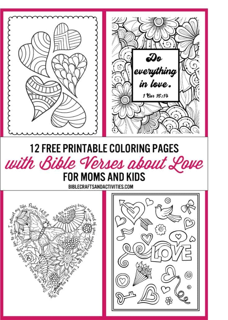 Free Printable Bible Verse Coloring Pages - | 1031x735