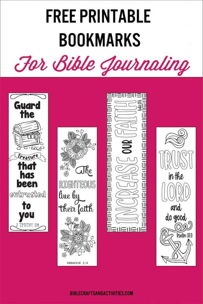 bible journaling bookmarks