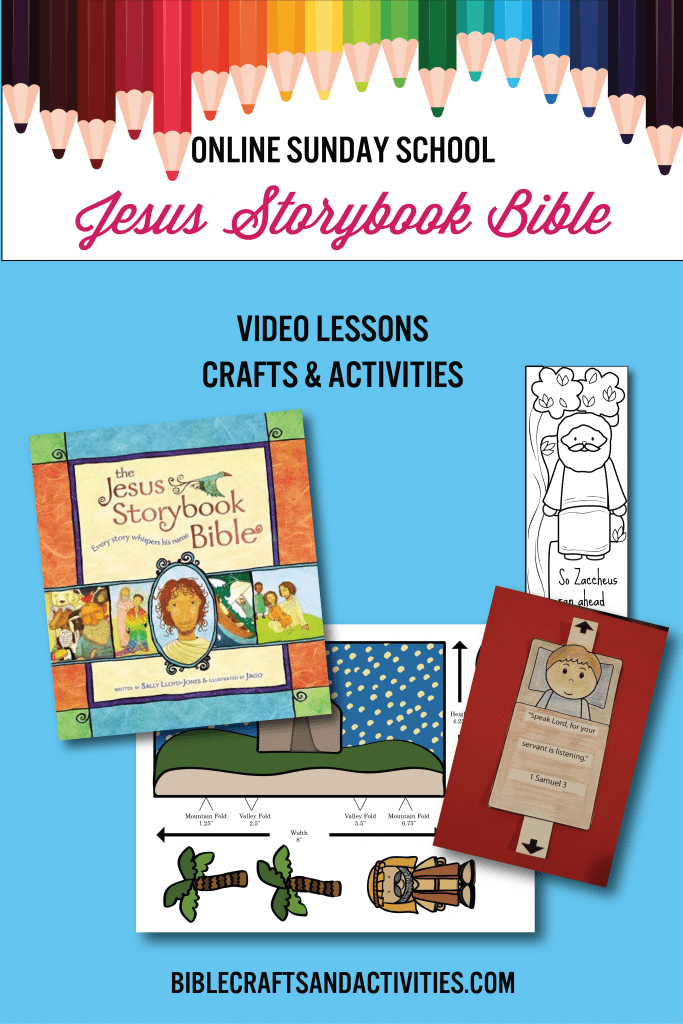 online sunday school lessons and activities