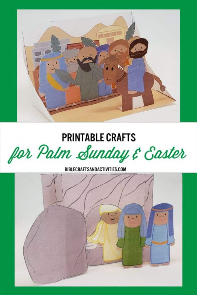 Palm Sunday and Easter Crafts
