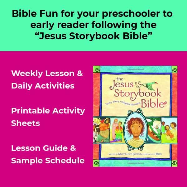 description of lessons that follow jesus storybook bible